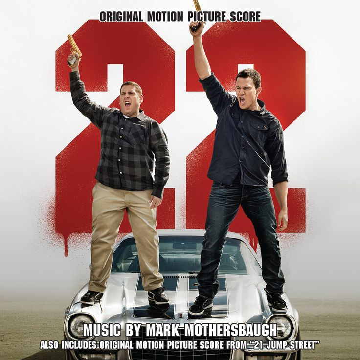 22 / 21 JUMP STREET: LIMITED EDITION (2-CD SET). Music by Mark Mothersbaugh. Limited Edition of 2000 Units