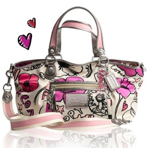 Cute Coach.  I want this bag.  I have this print in the Tote, and the Wristlett.  I love it and my coaches.