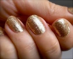 My favorite nail polish EVER. OPI Gift of Gold.