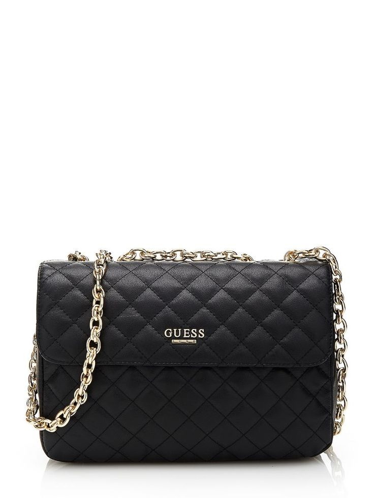 Compact and eye-catching, the Suave Crossbody Flap Bag is the ideal companion for the modern woman, with extra iconic detail added by the quilting pattern and the gold-coloured chain handle
