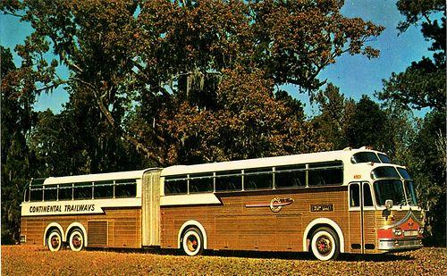 1958 Continental Trailways Super Golden Eagle Bus. Badder Ass!
