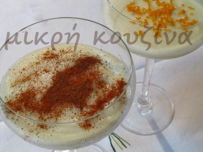 μικρή κουζίνα: Κρέμα με σιμιγδάλι
