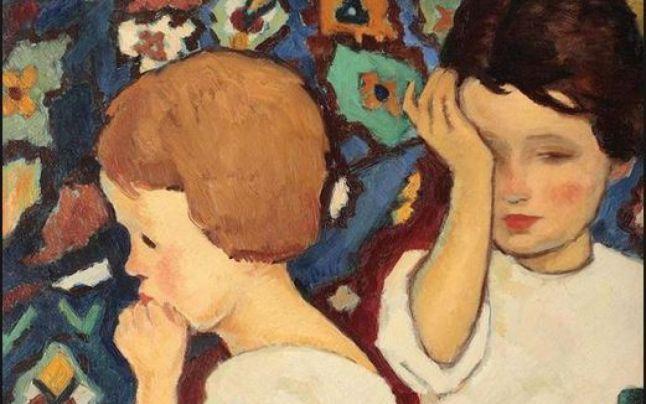 """Tabloul ƒ""""Noapte bună"""" al lui Nicolae Tonitza, una dintre cele mai profitabile licitaţii la Artmark"""