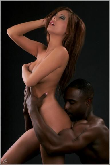 Interracial erotic art photos