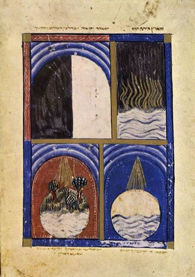 The Sarajevo Passover Haggadah, Spain, Catalonia, 14th century