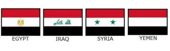 모양·색깔 똑같은 두 나라 국기 구분법 '신기' | Daum 미디어다음