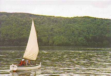 The Boats of Swallows and Amazons
