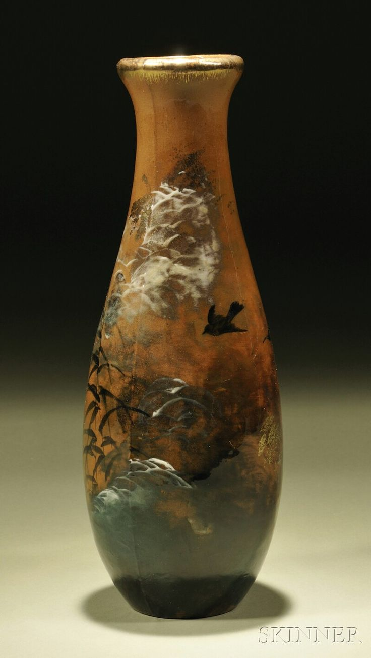 116 best art in ohio pottery images on pinterest columbus ohio matt morgan pottery vase art pottery cincinnati ohio decorated by matthew andrew daly flared reviewsmspy