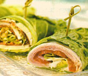 Lunch idee Chicken Wrap