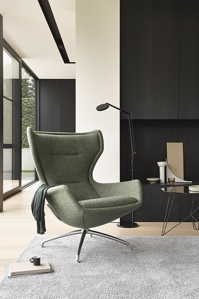 Eyye Puuro Swivel Chair Puuro Is What You Call A Classic Ear Chair But With The Look Of Today Due Living Room Decor Apartment Furniture Chair Lounge Chair