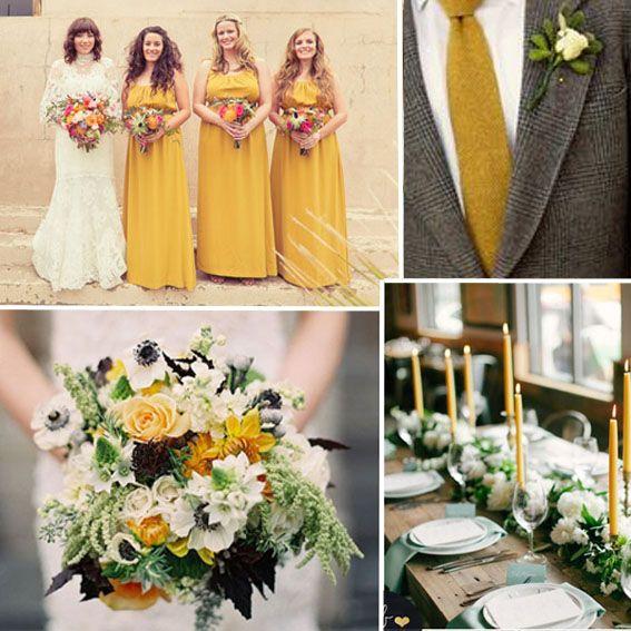 Tendenze nozze-colori moda autunno-inverno 2016-Pantone-spicy mustard