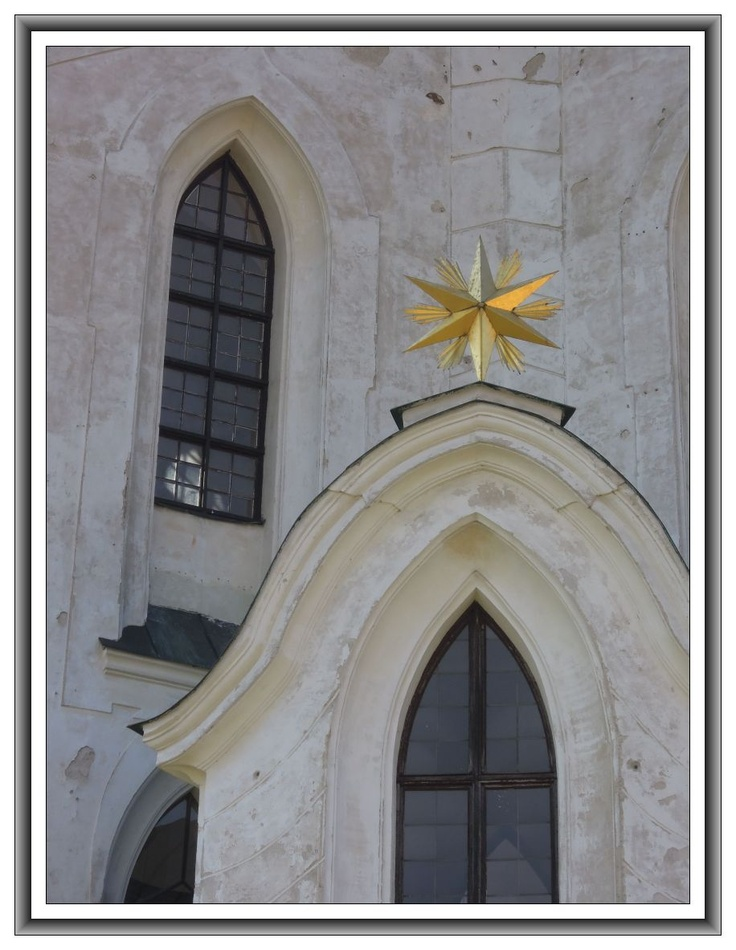 UNESCO - Zelena Hora detail of the church