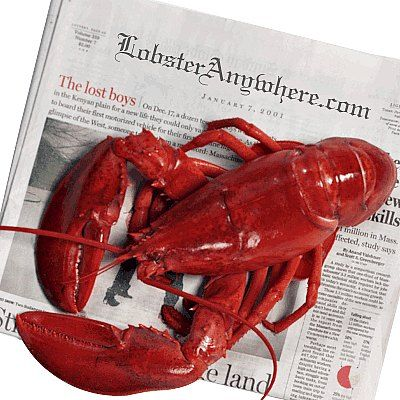 Live Maine lobster delivery anywhere in the USA. If you want live lobsters any fresher, you need your own boat! Order live lobster by the pound.