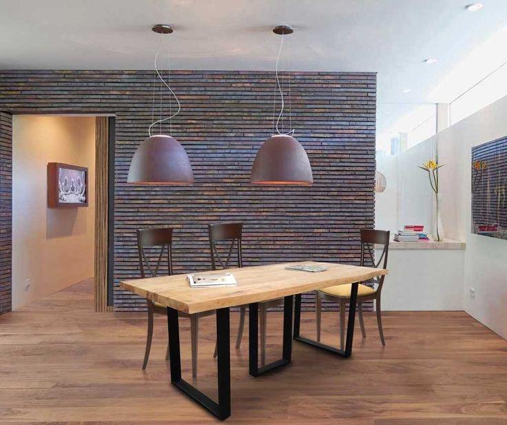 #Spisebord i Nature #Design - Zaydi Plankebord fra OBUZI.  #Rustikke #Møbler #Interiør #Indretning