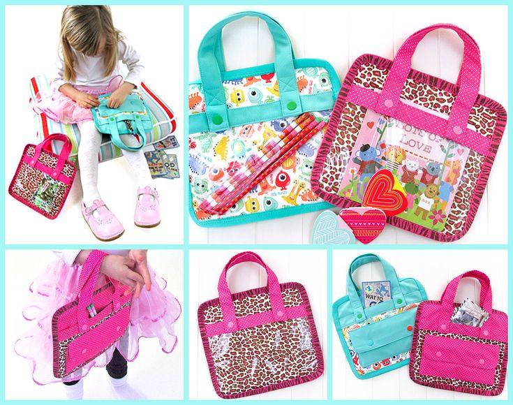 Don't miss these super cute Kid's Valentines (& More) Carry Case from @Sew4Home featuring versatile Babyville Boutique products. #sewing #kids #DIY @Babyville Boutique