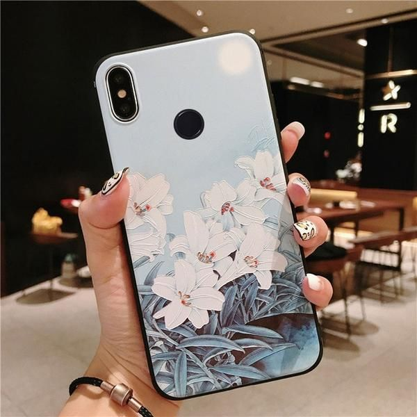 3d Rose Flowers Case For Xiaomi Redmi Note 7 Pro Case Mi9 Mi8 A2 A1 5x 6x Mix 2s On Redmi Note 6 Pro Note 5 Note 4x Cases Cover Floral