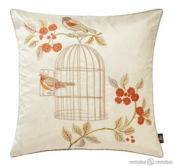 Charming #vintage birdcage #cushion