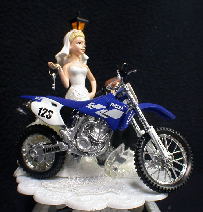 Motorcycle Wedding Cake Toppers Uk