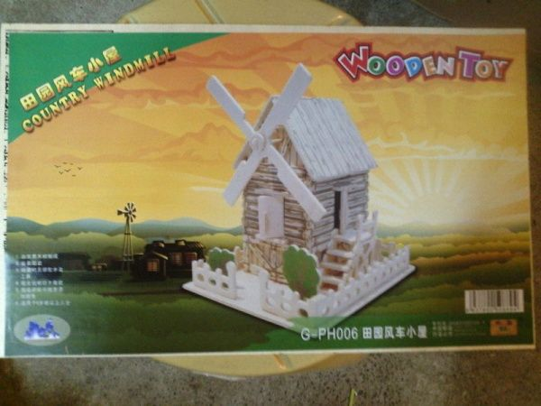 Have a fondness towards wood construction? How about having a go at this wood puzzle? Up the fun and the challenge.  Size : 34 cm x 21 cm Suitable for age 8-12