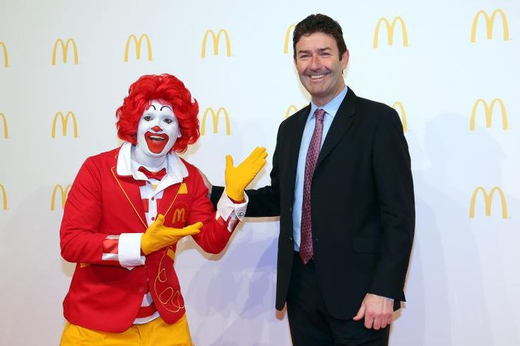 Steve Easterbrook w/ Ronald McD's CEO @SteveEasterbrk, it's time to change course. Retire Ronald and stop marketing to kids! http://act.stopcorporateabuse.org/p/dia/action3/common/public/?action_KEY=17870 via @StopCorpAbuse