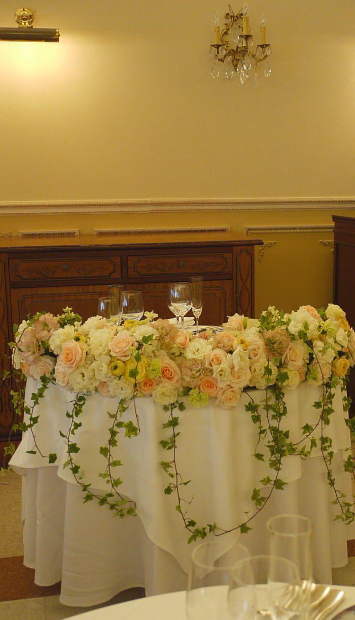 アプリコットの小箱とオレンジのドレス飾り ASO様へ : 一会 ウエディングの花