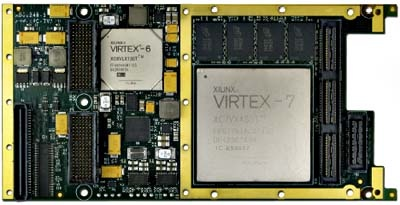 Alpha Data ADM-XRC-7V1 XMC Board Features Xilinx Virtex FPGA Devices | FPGA Blog