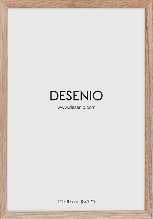 Bilderamme Eik, 21x30 i gruppen Plakatrammer / Størrelser / 21x30cm hos Desenio AB (AAEP50115)