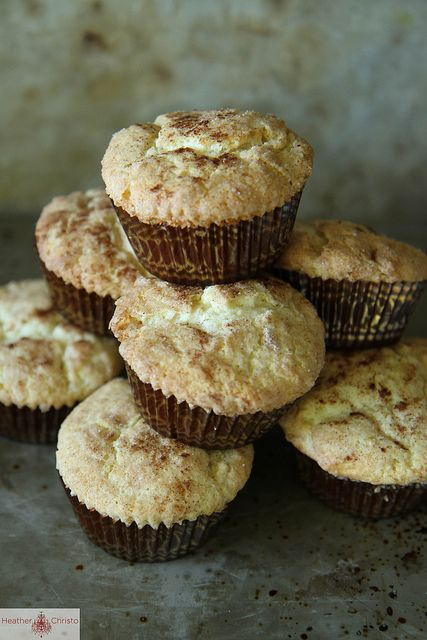 snickerdoodle muffins by Heather Christo, via Flickr