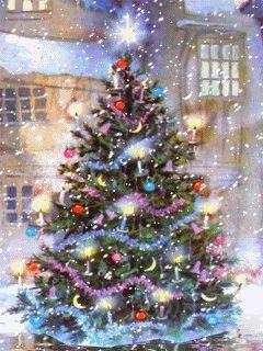 Animated Christmas image.