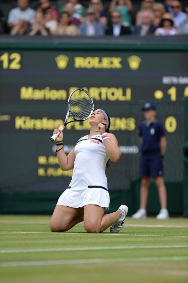 Marion Bartoli - 2013 Wimbledon Finalist