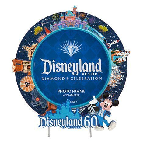 Disneyland 60th Anniversary Round 4 Photo Frame by Disney *** To view further for this item, visit the image link.