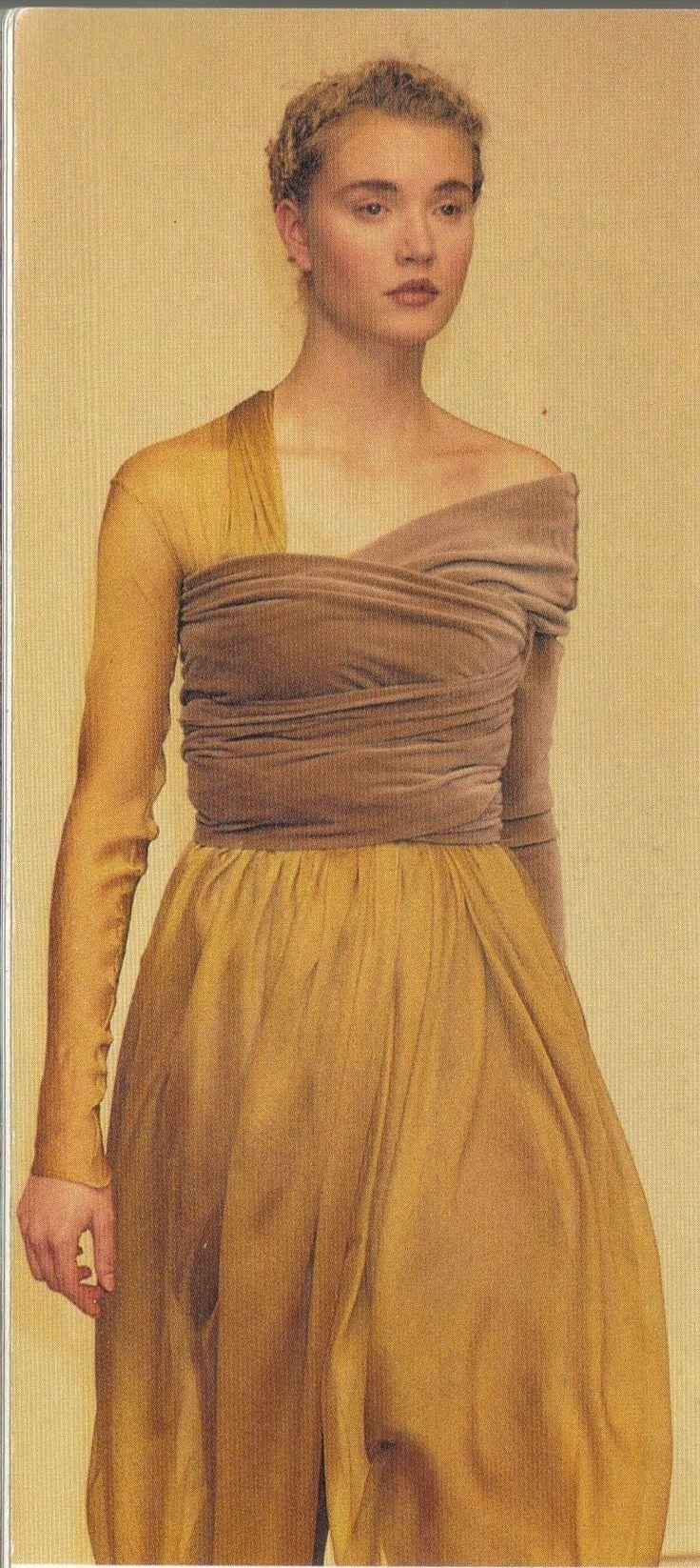 Still fashionable. 1989 - Romeo Gigli show