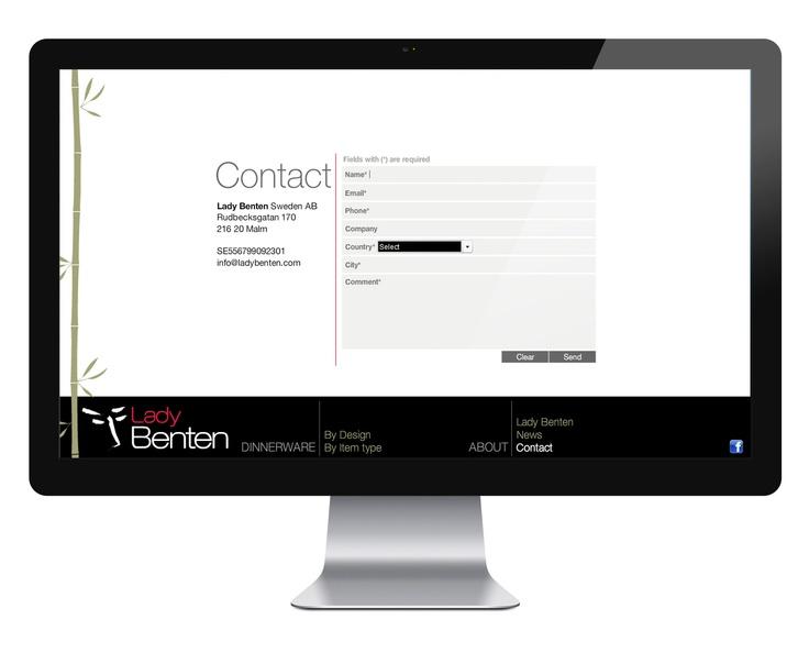 2011 / Lady Benten Branding & web design / Sweden