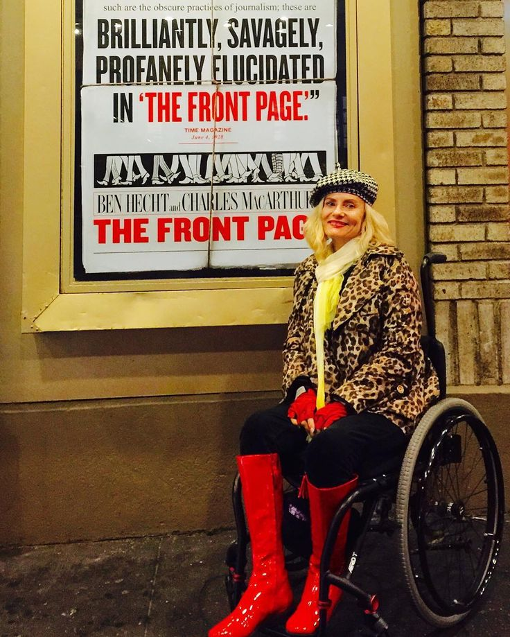 #redbitchboots #frontpage #broadwayshow #nathanlane #veryboring show. Left midway. Headed to a #dragqueenshow next. Can i have my $110 back? #johnslattery #johngoodman #overrated #boring #broadway #leopard #wheelchairstyle #nystreetstyle
