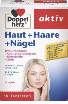 Haut + Haare + Nägel Tabletten