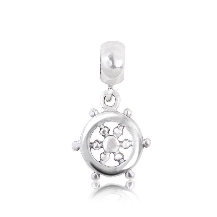 Berloque Prata Leme Navio: Compre na Rosana Joias & Relógios - Rosana Joias