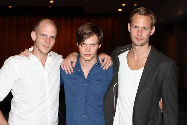 Real Skarsgard  Brothers....So here is Gustaf, Bill and Alexander at the Los Angeles Scandinavian Film Festival 2011.