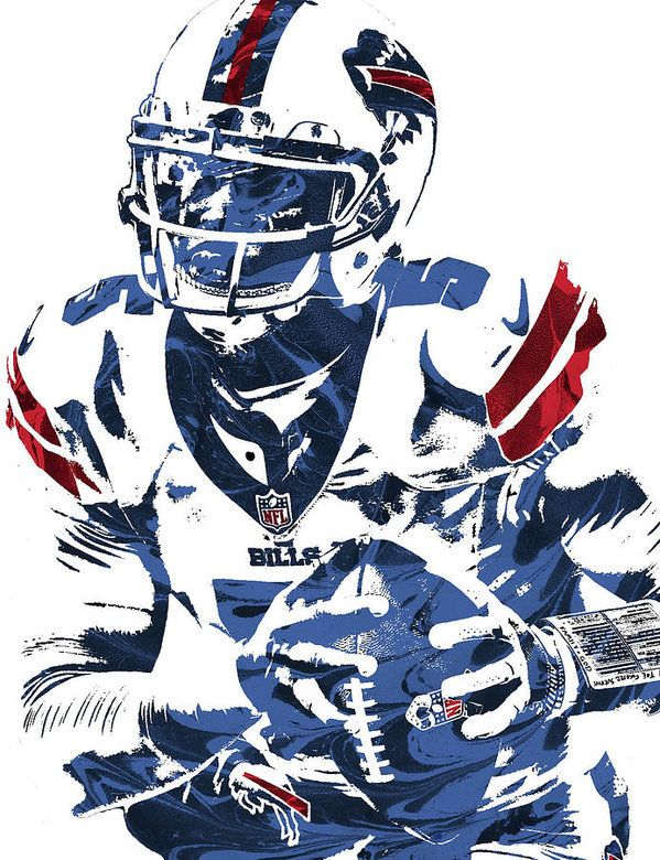 Tyrod Taylor Bills Pixel Art Follow me on Pinterest (dubstepgamer5) for more pins like this.