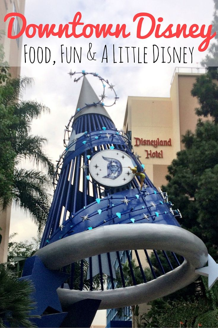 What to do at Downtown Disney. Where to eat, drink, entertain, and shop at Downtown Disney in the Disneyland Resort.