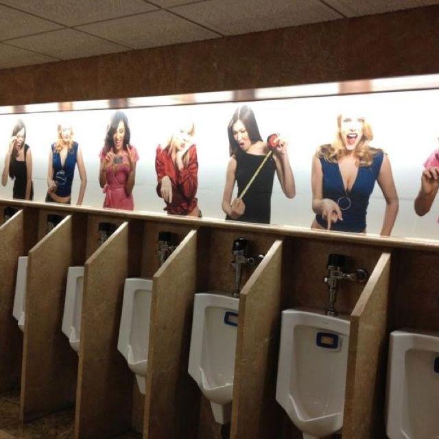 For the men's bathroom.