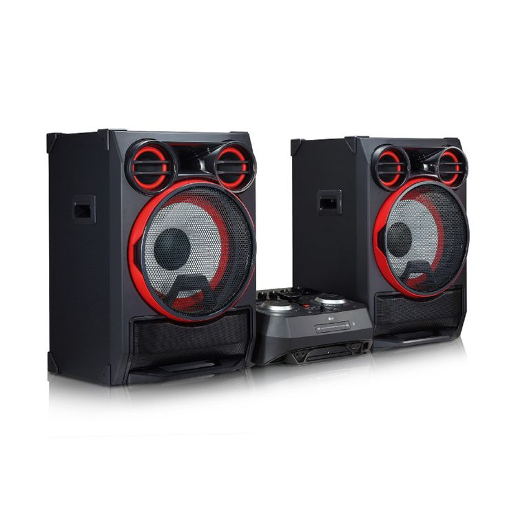 LG CK99 5000W HiFi Shelf System stereo components in