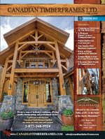 Winter 2011/ 2012 Newsletters and Features, Canadian Timberframes