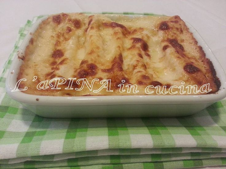 Cannelloni zucca e ricotta