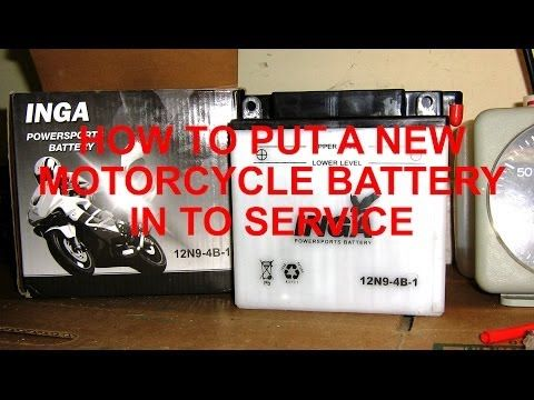 Look at this Batteries blog post we just posted at http://motorcycles.classiccruiser.com/batteries/how-to-put-a-new-motorcycle-battery-in-service/