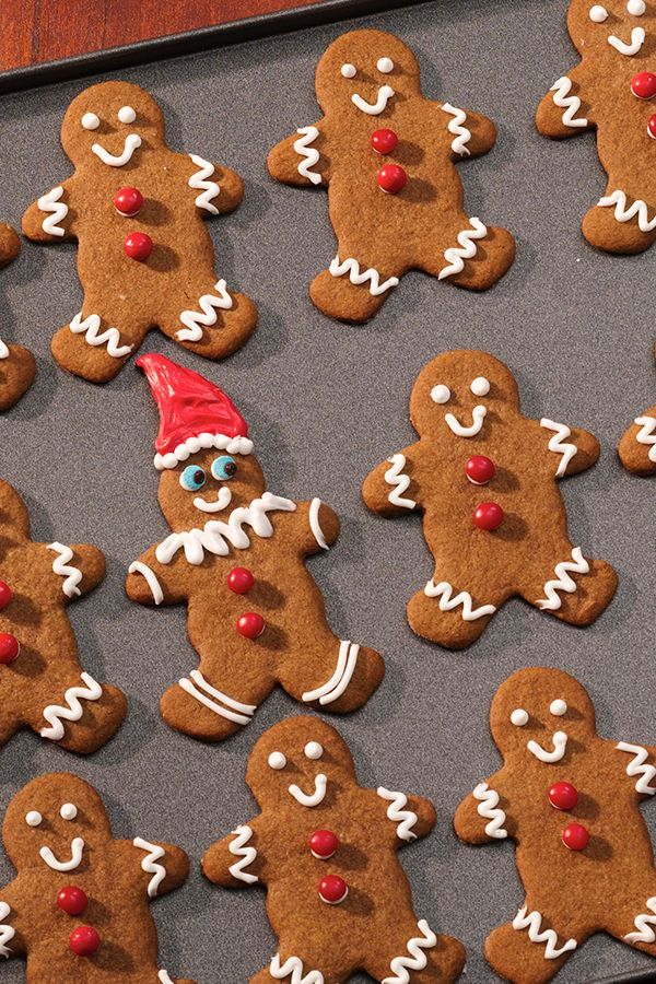 Use Betty Crocker™ Gingerbread Cookie Mix & Red Hot Candies to make these trendy cookies your kids will love! Make some men elves by decorating hats on the cookies and tell your kids they are friends with the Elf on the Shelf®. Hide your Elf in the cookie jar and see what mischief they all get into!