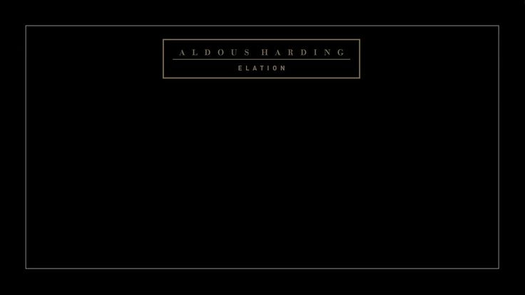 Aldous Harding - Elation (Official Video)