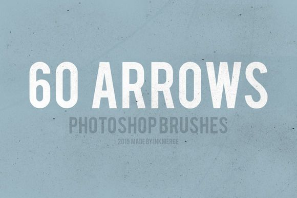 Sketched Brushes Arrow & Drawing by InkMerge on @creativemarket