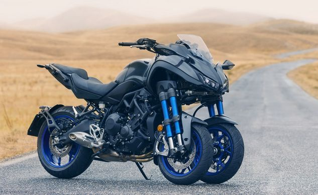 Yamaha Unveils a Unique Three-Wheeler They Call The Niken