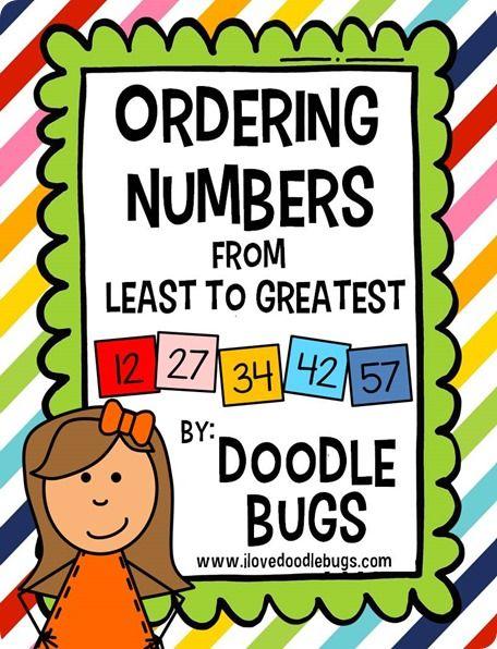 17 Best ideas about Ordering Numbers on Pinterest | Preschool math ...