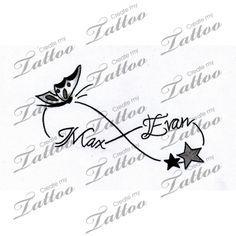 Help..Need loving creative tattoo with my kids names-inner wrist   kids #164931   CreateMyTattoo.com
